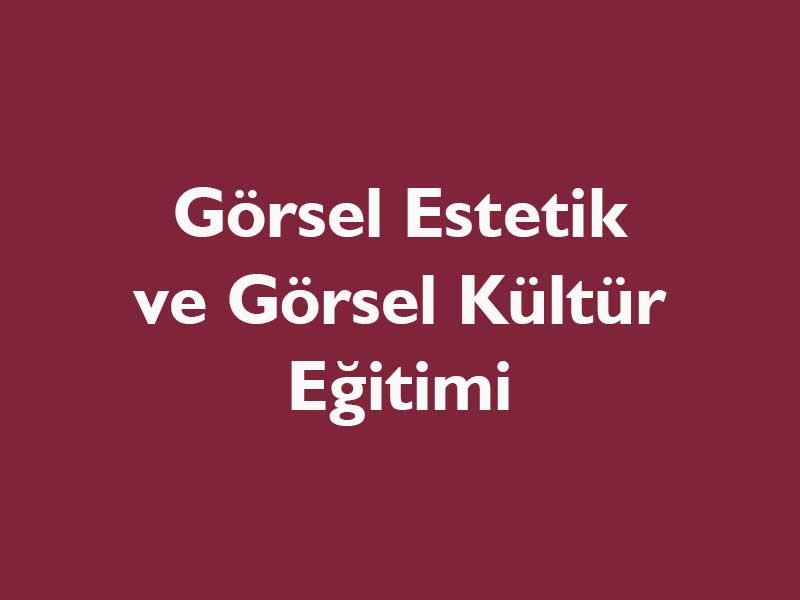 Görsel Estetik Eğitimi, Görsel Kültür Eğitimi