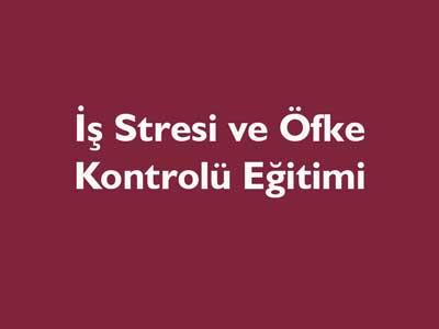 Iş Strsi Ve öfke Kontrolü Eğitimi